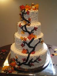 Cakes Wedding Fall