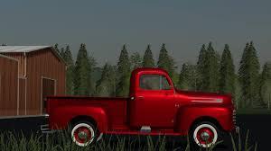 100 F100 Ford Truck 1948 Service Truck V10 FS19 Farming Simulator