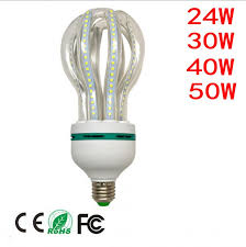 new lotus e27 led corn bulb 24w 30w 40w 50w lada led l e27