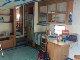 Camper Interior Decorating Ideas by How To Paint Camper Interior The Noshery