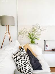 wilder spargel im wohnzimmer sofa deko interior
