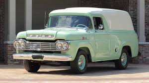 1959 Ford Panel Truck 1958 To 1960 Ford F100 For Sale On Classiccarscom 1959 Panel Van Chevrolet Apache Retyrd Photo Image Gallery Sold Custom Cab For Sale Nice Project Pickup Truck Stock Royalty Free 139828902 Cruisin Smooth In This Fordtruckscom Chevy 350 Runs Classic Other Hot Rod Network Big Window Short Bed File1959 Flareside Truckjpg Wikimedia Commons 341 Truck Zone 8jpg 32642448 Blue Oval 571960