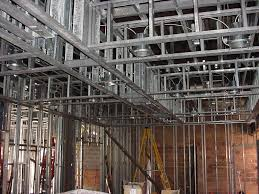 Ceiling Joist Span For Drywall by Light Gauge Metal Stud Framing Buildipedia