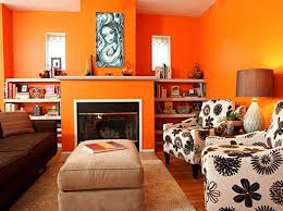 Best Colors For Living Room 2016 by Colorful Coastal Living Room Bright Orange 2016 Living Room Paint