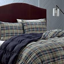 Plaid Comforter Set Queen For Handsome Bedding All Modern Home Designs Remodel 11