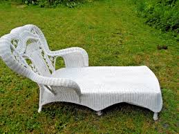 Vintage Victorian Style Wicker Chaise Lounge Chair W ... Upholstered Chaiselounge Authentic Reclamation Mad Chaise Longue Graphite Fabric Bonded Leather Manual Recliner Sofa Chair Beautiful Wave Chaise Lounge Designed By Adrian Pearsall For Craft Associates Moss Pony Dilleston White Coaster Fine Fniture Premium Patio Tufted Daybed Wewood Custom Crafted European Global 928 Contemporary With Metal Emerson Chaise
