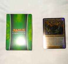 Magic The Gathering Edh Deck Box by Nature Of The Beast Magic The Gathering Commander Unboxing And