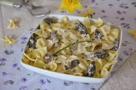 cuisiner les morilles farfalles aux morilles et au mascarpone au fil du thym