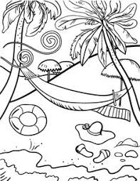 Printable Beach Coloring Page Free PDF Download At Coloringcafe