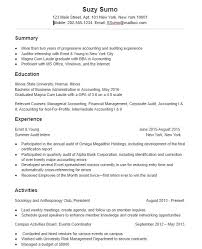 A Super Effective College Student Resume Sample And Tips