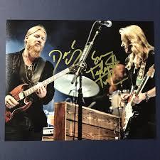 100 Derek Trucks And Susan Tedeschi Autographs Authentic Autograph Dealers RACC