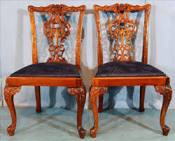 Chippendale Dining Chairs Chinese For Sale Pair Of Mahogany ... Bamboo Chippendale Chairs Small Set Of Eight Tall Back Black Faux Chinese Chinese Chippendale Florida Regency 57 Ding Table Vintage Six A Quick Living Room And Refresh Stripes Whimsy Side By Janneys Collection Chair Toronto For Sale Four