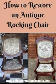 How To Restore An Antique Rocking Chair   Repurposing, Upholster ... How To Paint An Outdoor Metal Chair Howtos Diy 10 Rocking Ideas To Choose Upholster A Part 1 Prodigal Pieces Broken Repurposed Into Shelf Vintage Makeover Noting Grace Yard Sale Addicted 2 Liverpool Antique Oak Fabric Arm Platform Glider Dtown Oklahoma City Leisure Made Pearson White Wicker With Tan Cushions 2pack Wood Log Wooden Porch Rustic Rocker Diy Plans Nanny Network
