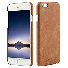 Amazon iPhone 6 6s Coated Leather Case with Slots for ID bank