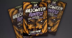 Free Halloween Flyer Templates by 75 Free Flyer Templates Photoshop Psd Download Psdtemplatesblog