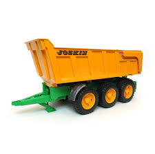 1/16th Joskin Dumping Trailer W/ Dump Action And Lifting Tailgate