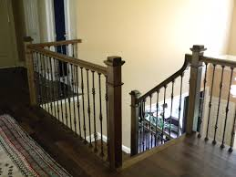 Wood Stairs And Rails And Iron Balusters: 2012 Building Our First Home With Ryan Homes Half Walls Vs Pine Stair Model Staircase Wrought Iron Railing Custom Banister To Fabric Safety Gate 9 Options Elegant Interior Design With Ideas Handrail By Photos Best 25 Painted Banister Ideas On Pinterest Remodel Stair Railings Railings Austin Finest Custom Iron Structural And Architectural Stairway Wrought Balusters Baby Nursery Extraordinary Material