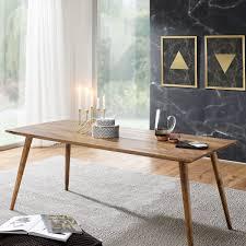 esszimmertisch repa 180 x 80 x 76 cm sheesham rustikal massiv holz design landhaus esstisch tisch für esszimmer groß 6 8 personen möbel und