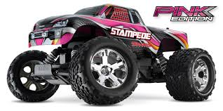Traxxas Stampede 2WD 1/10 Scale Monster Truck With TQ 2.4GHz Radio ...