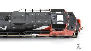 Rivet Counter N Scale CN GE Tier 4 GEVo ET44AC Locomotive ...