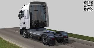 100 Truck Sleeper Cab 3D Model Renult Truck T High CGTrader