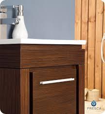 Small Modern Bathroom Vanity by 16 U201d Fresca Allier Wenge Brown Fvn8118wg Small Modern Bathroom