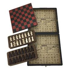New Arrived Antique Chess Table Games Board Game Wooden Box Vintage Set Retro Gift