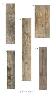 our favorite wood look tile woods gray and tile flooring