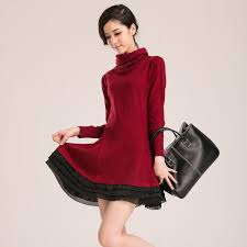 wool dresses european fashion size plus elegant dresses 2016 warm