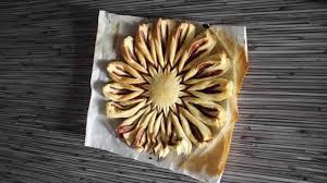recette tarte au nutella en pâte feuilletée