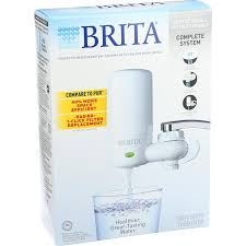 Brita Faucet Filter Replacement Instructions by Amazon Com Brita Advanced Faucet Filtration System White 1