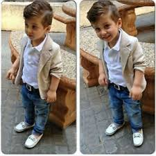 Image Is Loading 3pcs Toddler Kids Gentleman Coat Shirt Jeans Pant