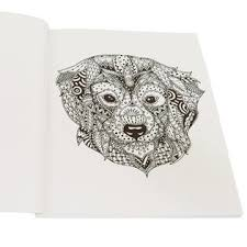 As Seen On TV Colorama Delightful Dogs Coloring Book
