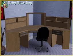 Officemax Corner Desk With Hutch by Babybluebug U0027s Bbb Office Max Deluxe Corner Desk With Hutch