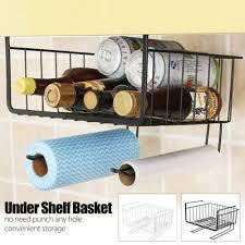 metall unterbau hängekorb küche regal korb schrank organizer