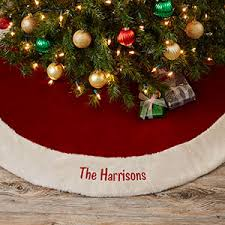 Buy Personalized Christmas Tree Skirts Add Any Text To Be Embroidered Choose Colors Fonts Free Personalization Fast Shipping
