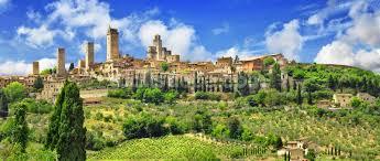 Beautiful San Gimignano Tuscany Wall Mural Photo Wallpaper