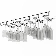 Under Cabinet Stemware Rack Walmart by Shop Amazon Com Wine Racks
