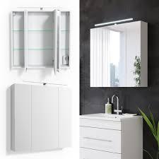 bad spiegelschrank weiss hochglanz badezimmer spiegel