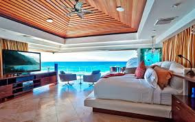 Amazing Dream Master Bedrooms With Ocean View And Modern Platform