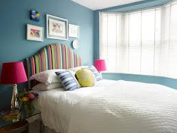 The Fenton Headboard From Sleepys by Deep Blue Walls Are Perfect For A Sunny Bedroom Upholstered