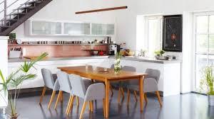 eine offene küche verbindet kochen und essen wohnen und
