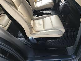 Oxgord Tactical Floor Mats by Toughpro Tesla Model X Floor Mats Set All Weather Heavy Duty