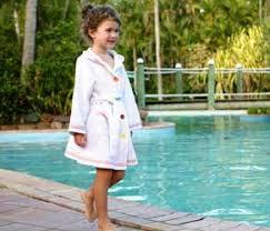 Girls Spa Robe Waffle Swim