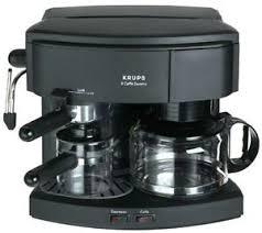 Krups Caffe Duomo 985 42 8 Cups Coffee Espresso Combo