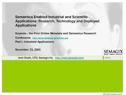 100 Amit Inc Sheth CTO Semagix Ppt Download