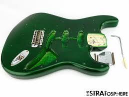 Fender Custom Shop Postmodern Relic Stratocaster BODY HARDWARE Strat Emerald