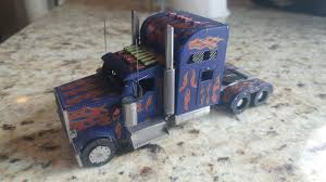 100 Optimus Prime Truck Model Truck From Picture Kingdom Painted And Not By Me Got