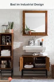 bad im industriellen stil einrichten badezimmer