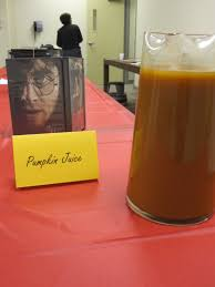 Pumpkin Juice Harry Potter Recipe by Teen Blog Frvpld Recipes From The Harry Potter Release Party